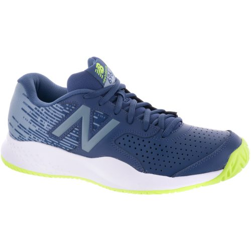 New Balance 696v3: New Balance Men's Tennis Shoes Pigment/Energy Lime