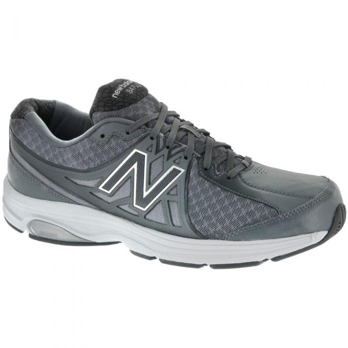 New Balance 847v2: New Balance Men's Walking Shoes Gray/White