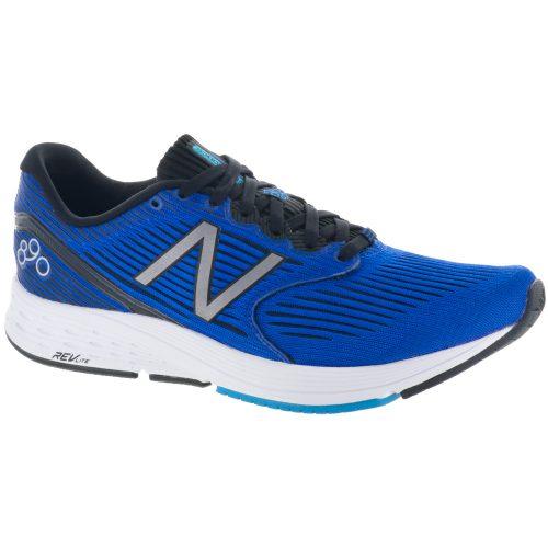 New Balance 890v6: New Balance Men's Running Shoes Pacific/Maldives Blue/Black