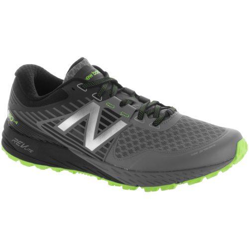 New Balance 910v4: New Balance Men's Running Shoes Gunmetal/Energy Lime