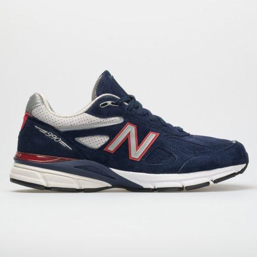 New Balance 990v4: New Balance Men's Running Shoes Blue/Red