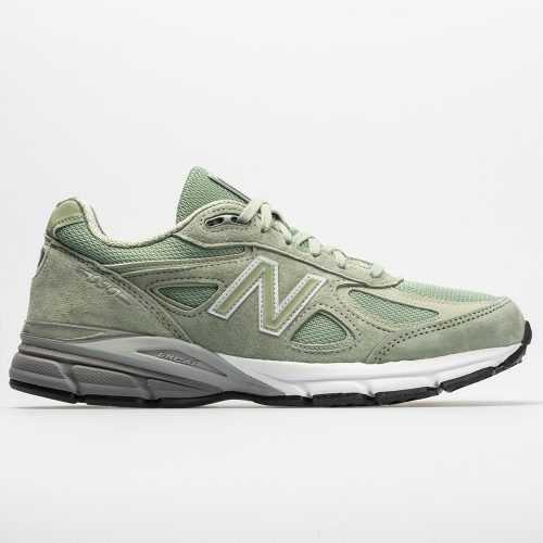 New Balance 990v4: New Balance Men's Running Shoes Silver/Mint
