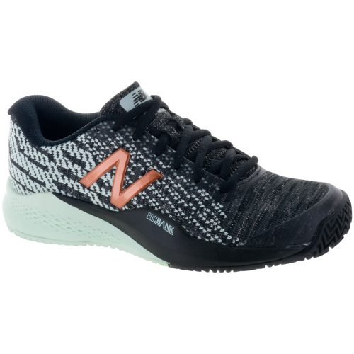 New Balance 996v3 Clay: New Balance Women's Tennis Shoes Black/Seafoam
