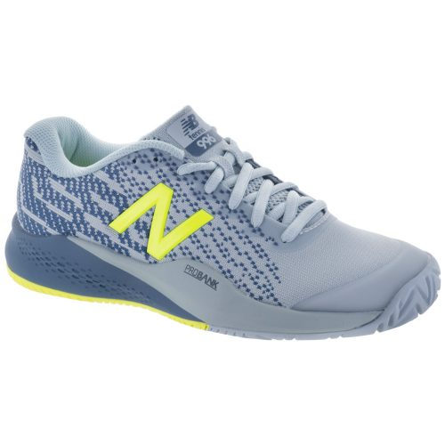 New Balance 996v3: New Balance Women's Tennis Shoes Light Porcelain/Solar Yellow