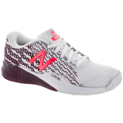 New Balance 996v3: New Balance Women's Tennis Shoes White/Oxblood