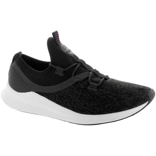 New Balance Fresh Foam LAZR: New Balance Women's Running Shoes Phantom/Black/White Munsell