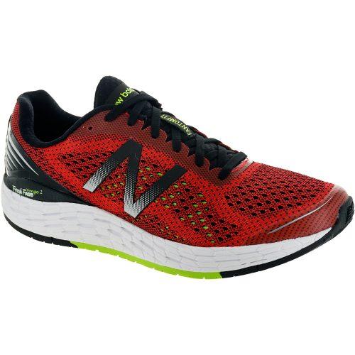 New Balance Fresh Foam Vongo v2: New Balance Men's Running Shoes Energy Red/Energy Lime