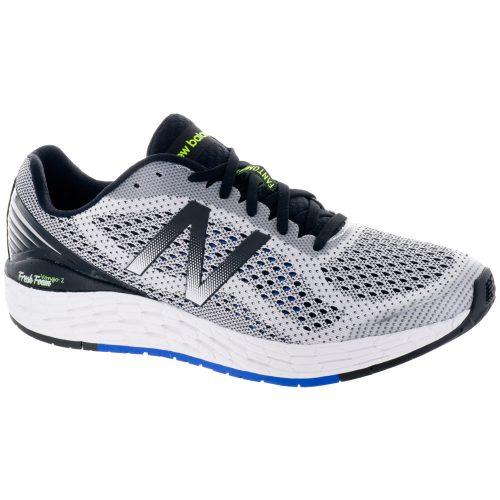 New Balance Fresh Foam Vongo v2: New Balance Men's Running Shoes White/Vivid Cobalt