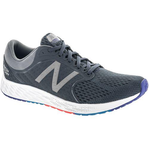 New Balance Fresh Foam Zante v4: New Balance Men's Running Shoes Steel/Thunder/Pacific