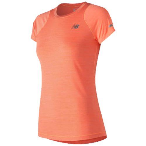 New Balance Seasonless Short Sleeve Top: New Balance Women's Running Apparel
