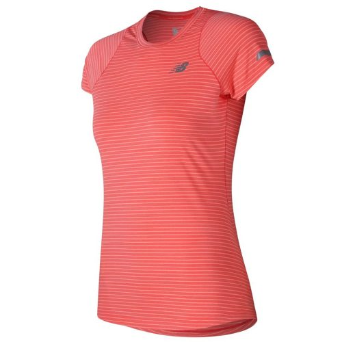 New Balance Seasonless Short Sleeve Top: New Balance Women's Running Apparel Spring 2018