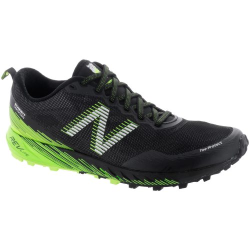 New Balance Summit Unknown: New Balance Men's Running Shoes Black/Energy/Lime
