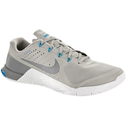 Nike Metcon 2 AMP: Nike Men's Training Shoes Pale Grey/Stealth Blue/Glow