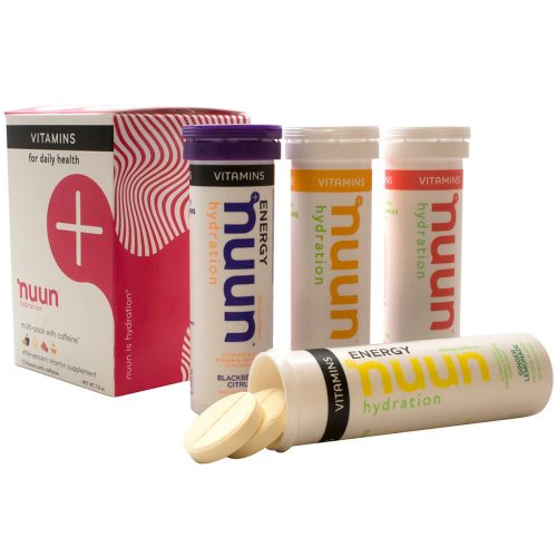 Nuun Vitamins Mixed Flavors 4 Pack: Nuun Nutrition