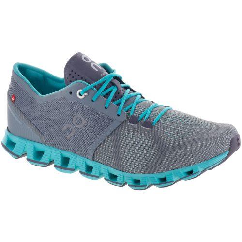 On Cloud X: On Running Women's Running Shoes Grey/Atlantis