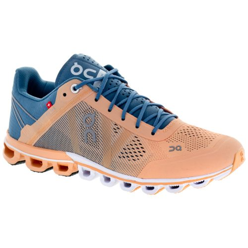 On Cloudflow: On Running Women's Running Shoes Almond/Grey