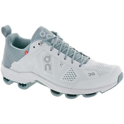 On Cloudsurfer: On Running Women's Running Shoes Glacier/White