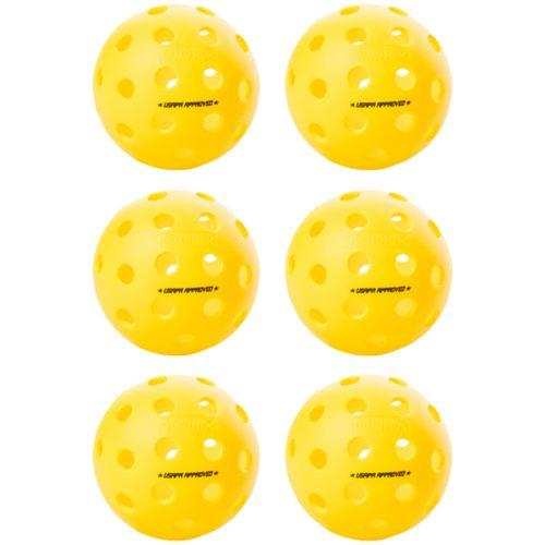 Onix Fuse Outdoor Pickleball 6 Pack: Onix Pickleball Pickleball Balls