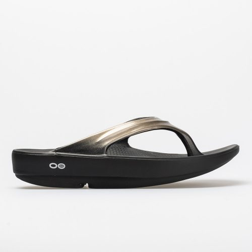 Oofos OOlala: Oofos Women's Sandals & Slides Black/Latte