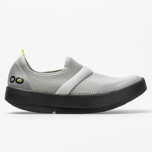 Oofos OOmg Low: Oofos Women's Walking Shoes Black/Gray