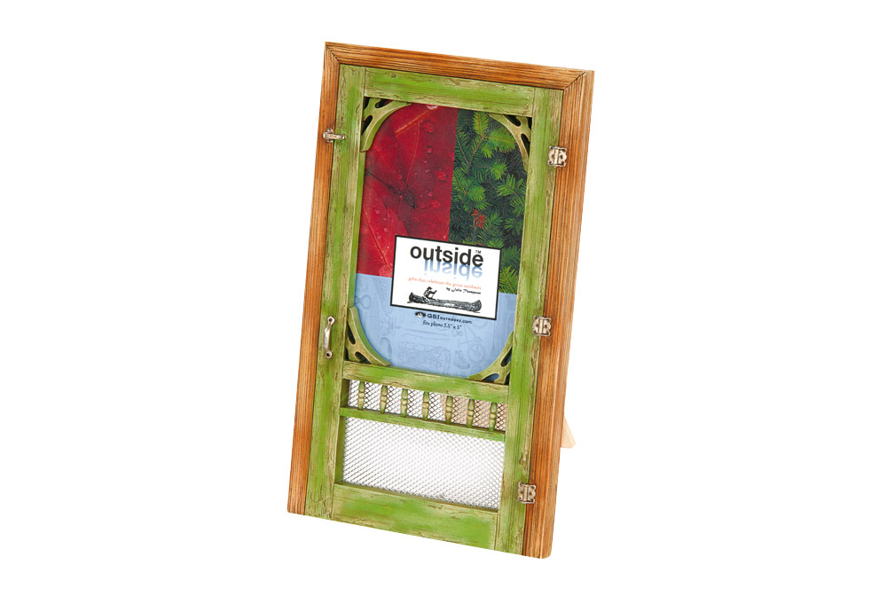 Outside Inside Screen Door Frame - one color, one size