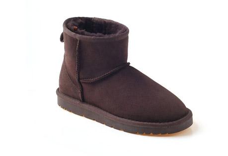 Ozwear Genuine Sheepskin Mini Boots - Women's