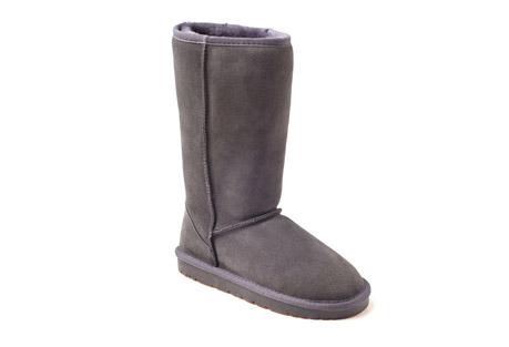 Ozwear Genuine Sheepskin Tall Boots - Men's