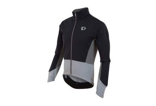 Pearl Izumi ELITE Pursuit Softshell Jacket - Men's - black/monument grey, x-large