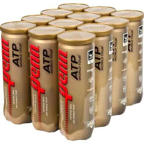 Penn ATP World Tour Extra-Duty 12 Cans: Penn Tennis Balls