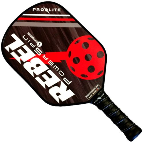 Pro-Lite Rebel PowerSpin Paddle: Pro Lite Sports Pickleball Paddles