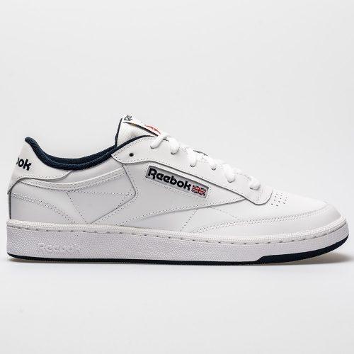 Reebok Club C 85: Reebok Men's Tennis Shoes White/Navy
