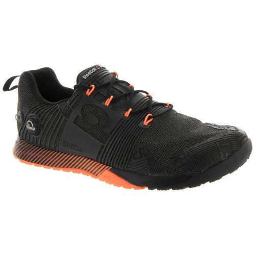 Reebok CrossFit Nano Pump Fusion: Reebok Men's Training Shoes Black/Electric Peach