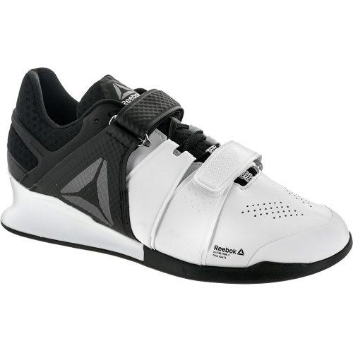 Reebok Legacy Lifter: Reebok Men's Training Shoes White/Black/Pewter