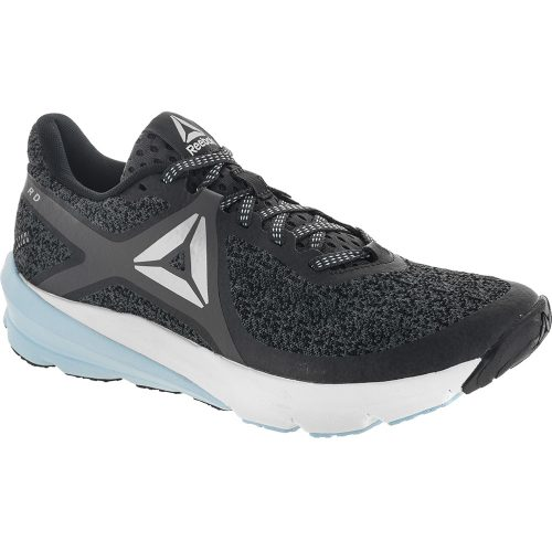 Reebok OSR Grasse Road: Reebok Women's Running Shoes Ash Gray/Coal/Blk/Fresh Blue/White