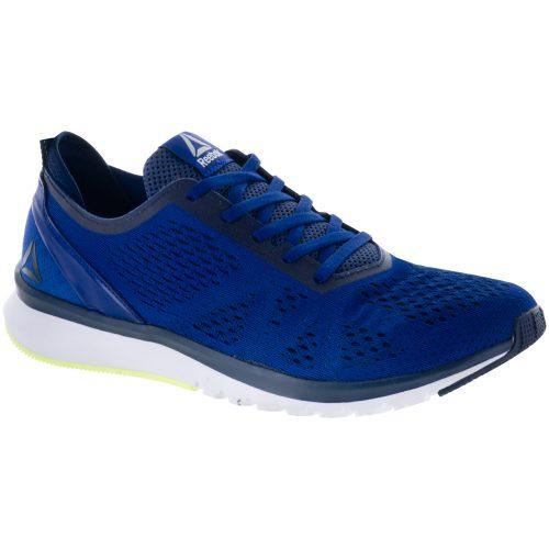 Reebok Print Smooth Clip ULTK: Reebok Men's Running Shoes Deep Cobalt/Navy/Flash