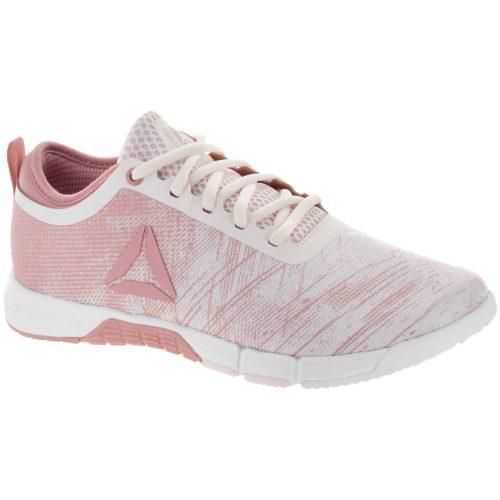 Reebok Speed Her TR: Reebok Women's Training Shoes Pink/White/Silver