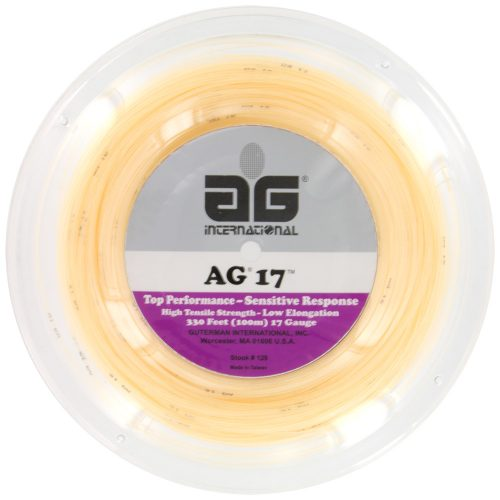 Reel - AG Synthetic Gut 17G 330': AG International Tennis String Reels
