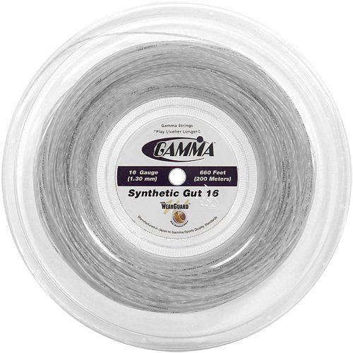 Reel - Gamma Synthetic Gut WearGuard 16 660: Gamma Tennis String Reels