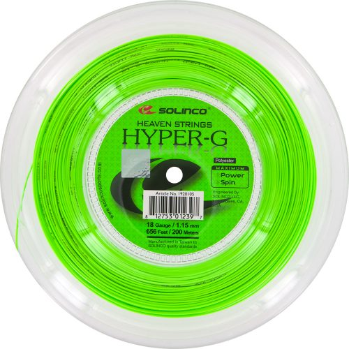 Reel - Solinco Hyper-G 18 1.15: Solinco Tennis String Reels