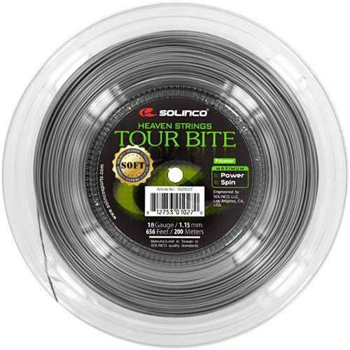Reel - Solinco Tour Bite Soft 18 1.15: Solinco Tennis String Reels