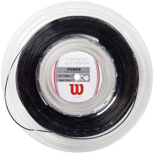 Reel - Wilson Synthetic Gut Power 17: Wilson Tennis String Reels