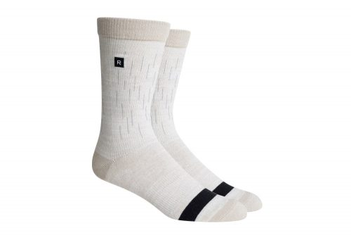Richer Poorer Scanner Reflective Socks - white, one size