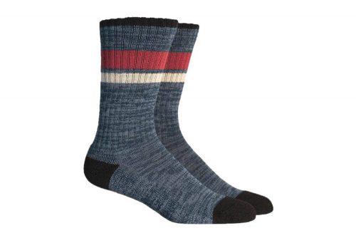 Richer Poorer Wildwood Socks - navy/brown, one size