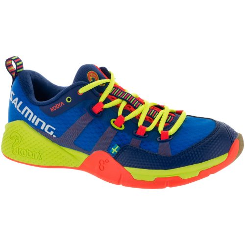 Salming Kobra: Salming Men's Indoor, Squash, Racquetball Shoes Royal/Yellow