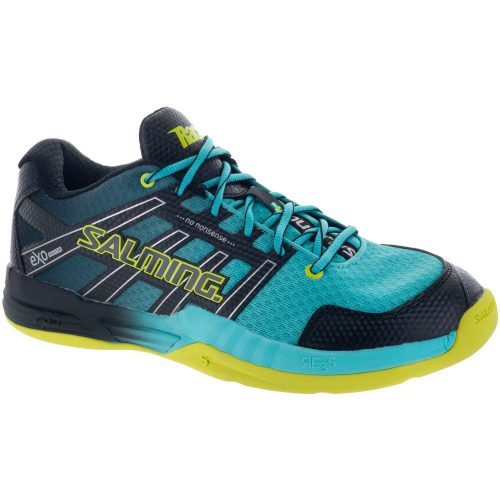 Salming Race X: Salming Men's Indoor, Squash, Racquetball Shoes Turquoise