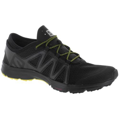 Salomon Crossamphibian Swift: Salomon Men's Hiking Shoes Black/Phantom/Sulphur Spring