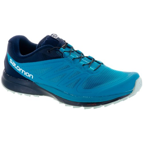 Salomon Sense Pro 2: Salomon Women's Running Shoes Enamel Blue/Navy Blazer/Eggshell Blue