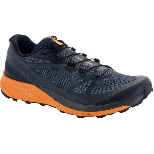 Salomon Sense Ride: Salomon Men's Running Shoes Navy Blazer/Bright Marigold/Ombre Blue