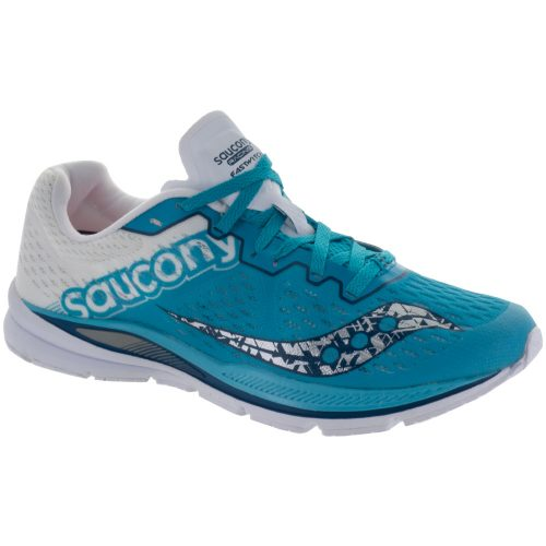Saucony Fastwitch 8: Saucony Women's Running Shoes Teal/White