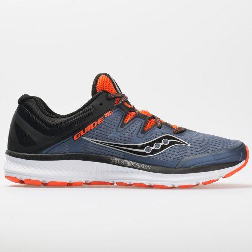 Saucony Guide ISO: Saucony Men's Running Shoes Grey/Black/Orange